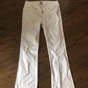 True religion white jeans